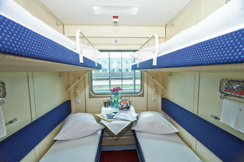 Сколько мест в купейном вагоне поезда ржд